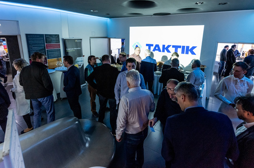 Meeting with customers at Žižkov tower